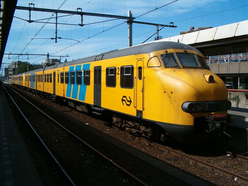 Trein op Utrecht CS