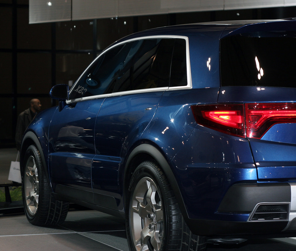 Acura SUV, Probably The Only Non-ugly Concept