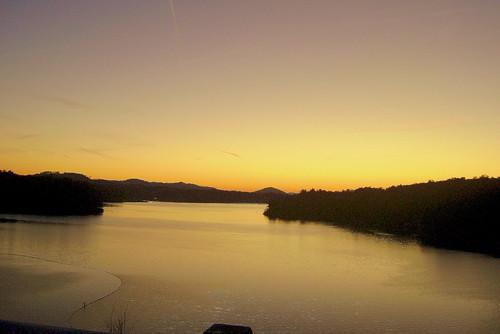 sunset wilkescounty keithhall wilkesboronc wkerrscottdam