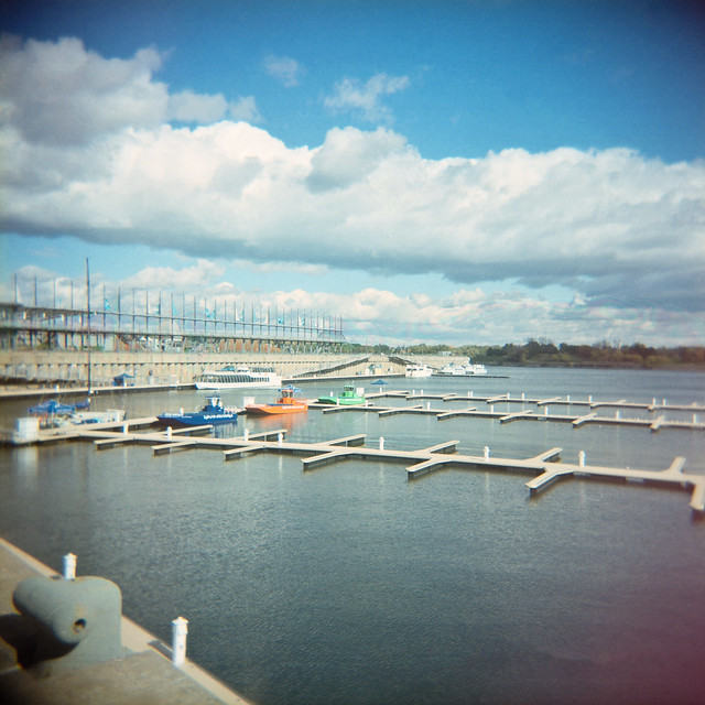 Holga dans le Vieux-Port