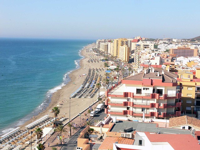 Fuengirola from our hotel