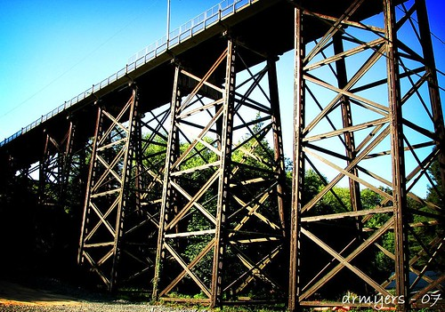 bridge summer wooden portangeles 2007 woodentrestle canons3is cordan superbmasterpiece onlythebestare 8thstbridge