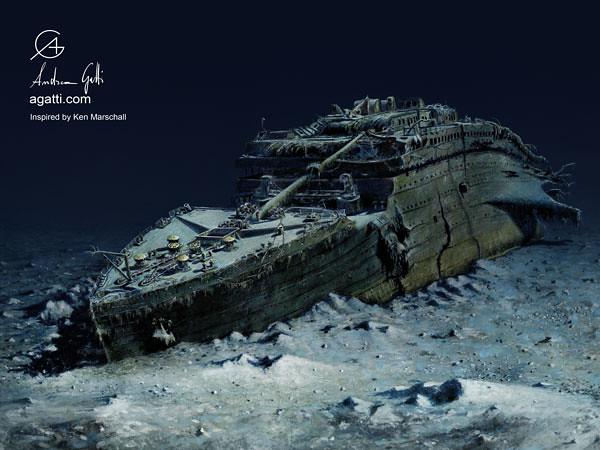 Titanic prua