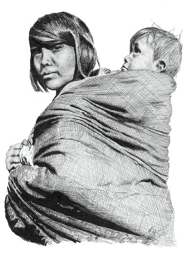 Sioux Woman and child | by ToOliver2