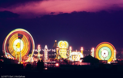 sunset night mississippi statefair jackson ms ferriswheel nikonf2 skywheel