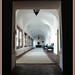The corridor.........