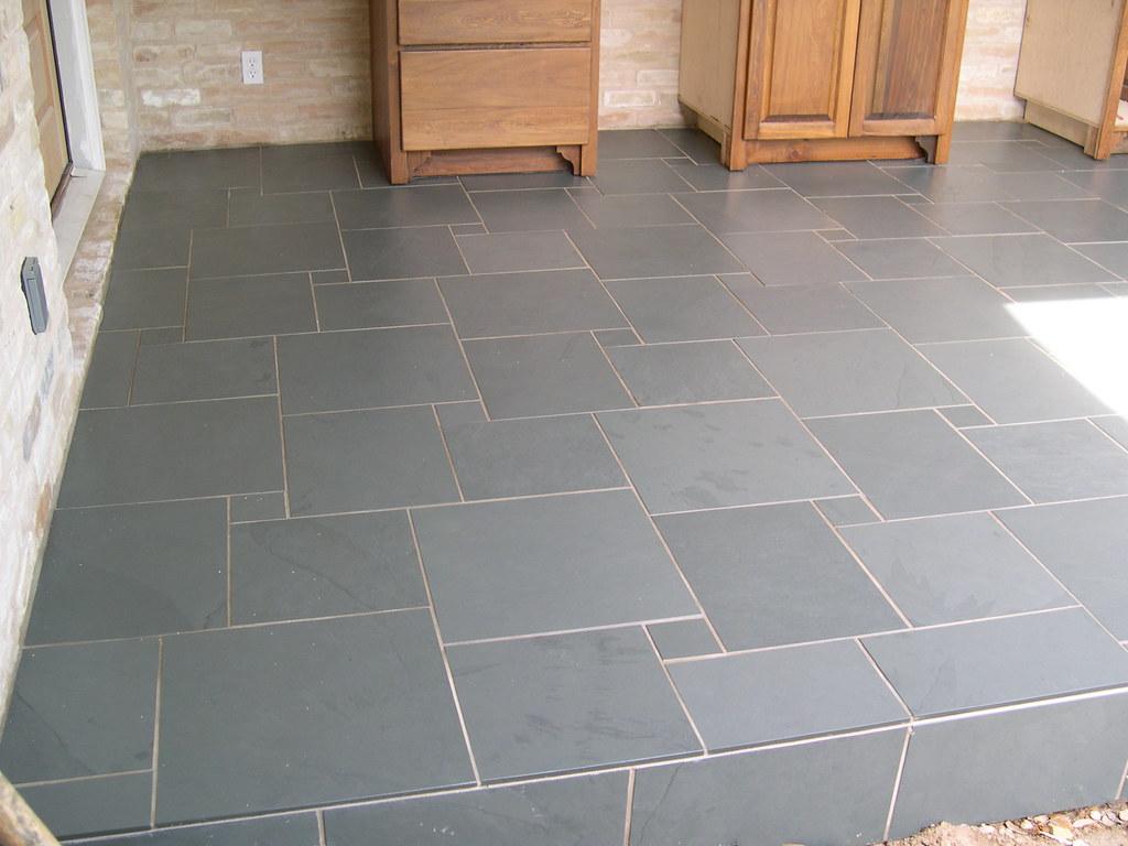 Slate Tile Patio Floor Brazilian Green Slate 4