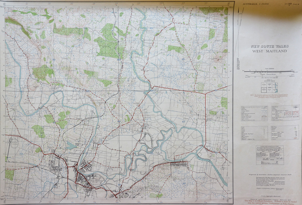 phs1205 topo map Hunter and Paterson rivers 1942 | includes ... on map dallas, map wings, map navy,