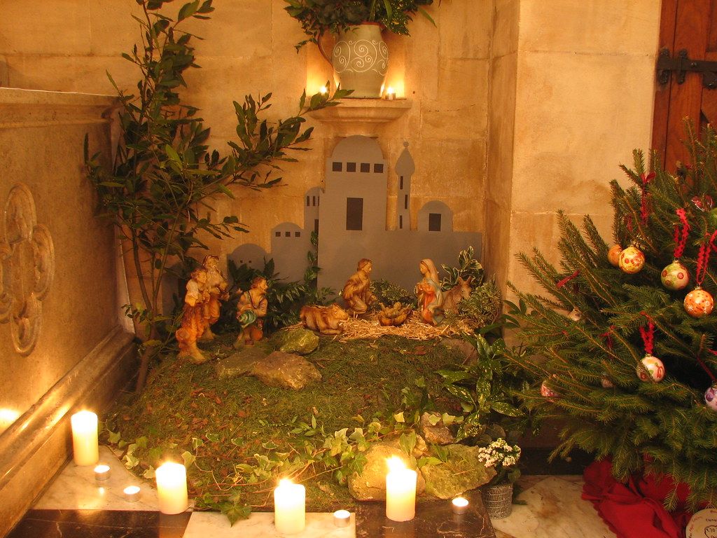 Christmas Crib Images Hd.The Christmas Crib The Origin Of The Christmas Crib Or Ma