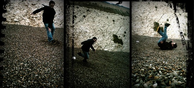 Stoneboarding breakfall manouver