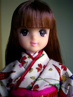 Miho, a friend of Licca.