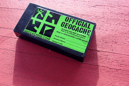 Official Geocache   by Trevor Manternach