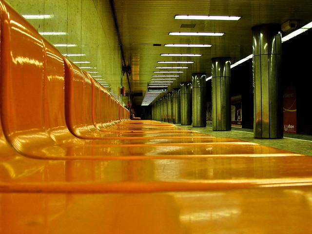 Budapest metro station (Arany Janos utca)