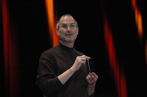 Steve Jobs  and the iPhone | by dfarber