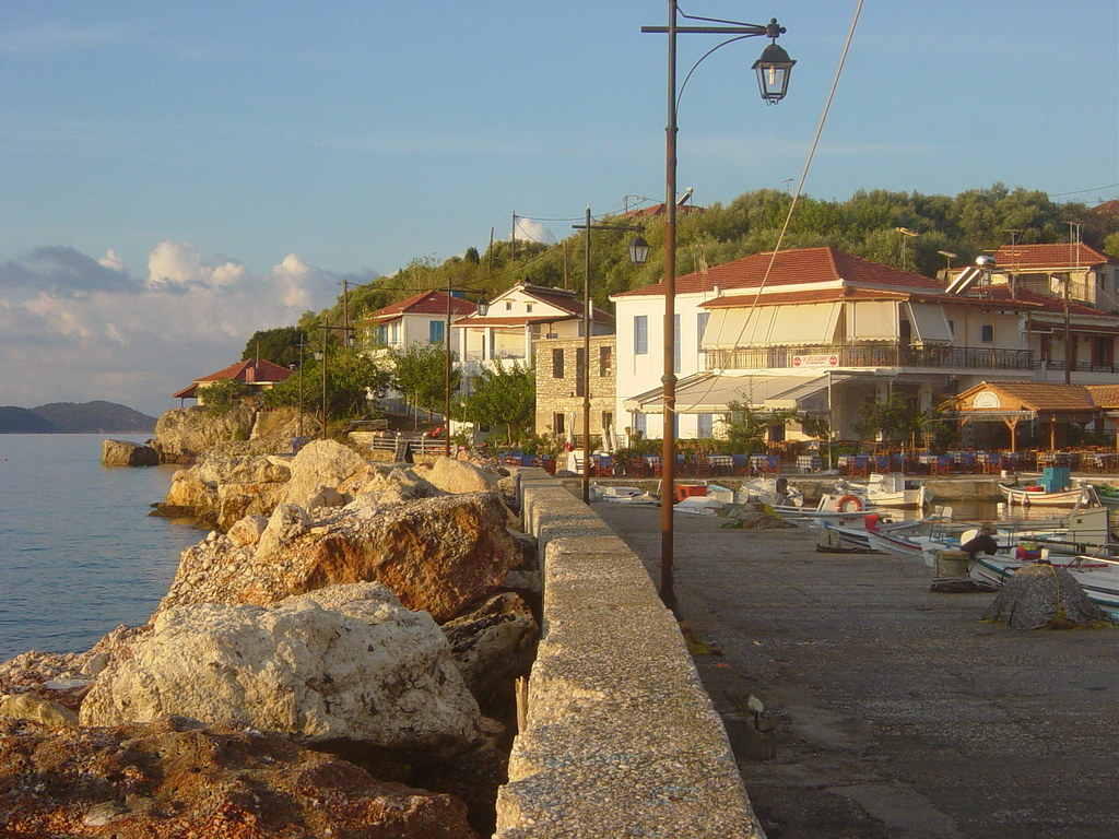 Kalamos dockside