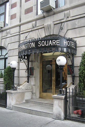 NYC - Greenwich Village: Washington Square Hotel   by wallyg