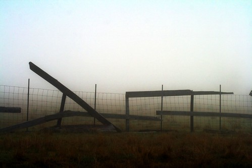 blue brown fog fence landscape beige louisiana backlit thesouth roadside mrgreenjeans gaylon canonef100mmf28macrousm gaylonkeeling