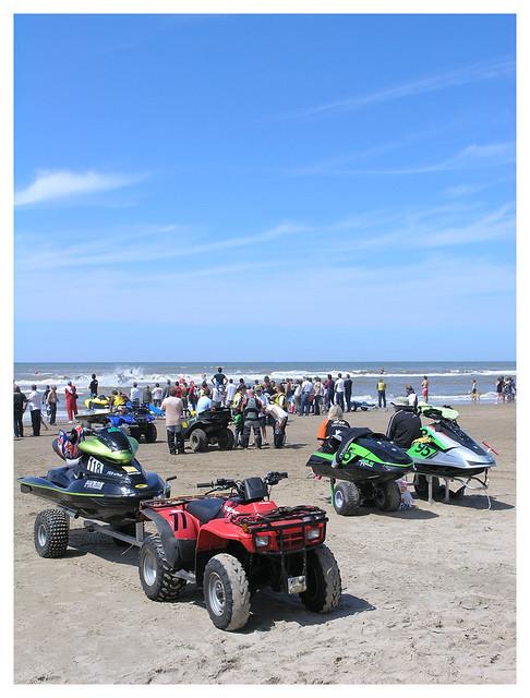 Zandvoort - quads and jet skis again