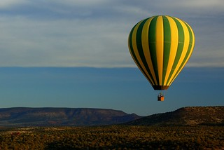 Floating Over Sedona | by Scott Ableman