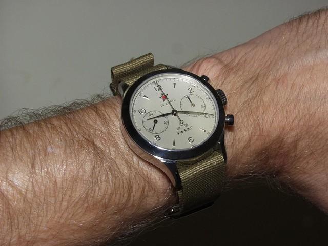 Seagull 0437 Chrono wristshot