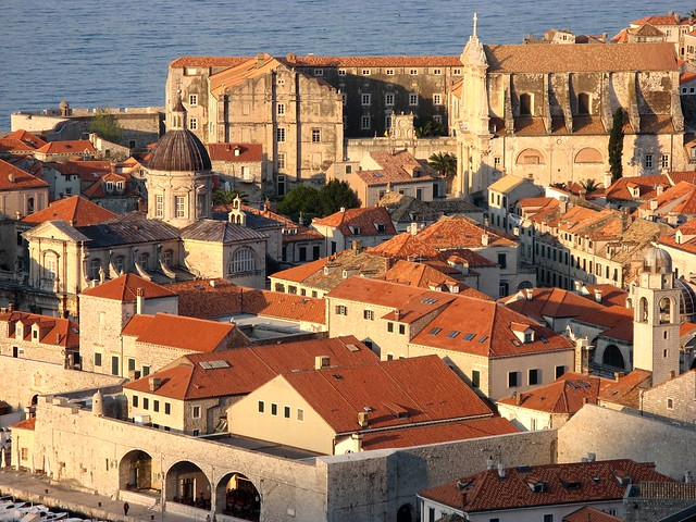 Dubrovnik warming up in the morning light
