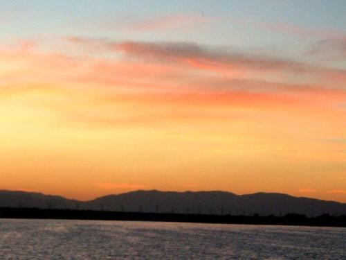 california fishing lakes sunrises