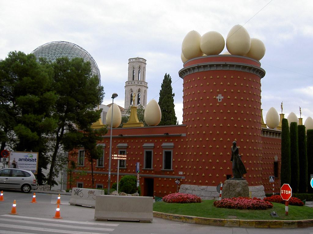 Museo Dali Figueres.Museo Dali Torre Galatea Museo Dali Figueres Manuelfloresv