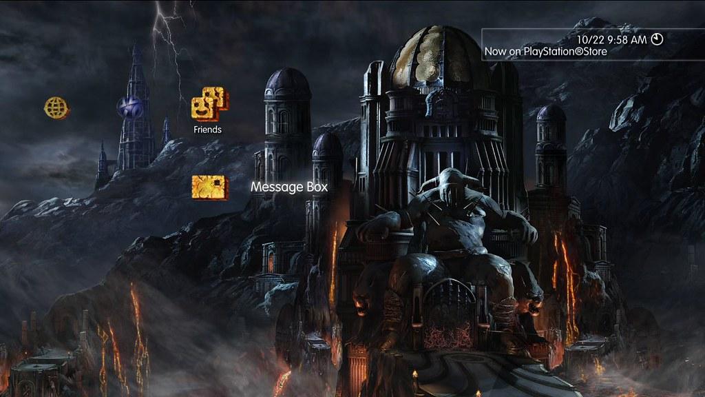 God of War Hades PS3 Dynamic Theme | God of War Hades PS3 Dy