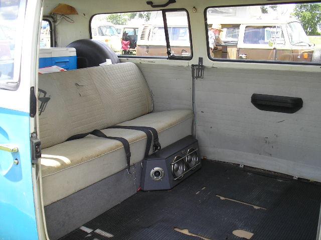1972 Microbus, interior   Len Cleavelin   Flickr
