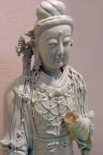 Seated Bodhisattva Yuan dynasty late 13th - early 14th century CE Porcelain (1) | by mharrsch