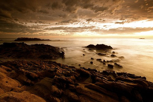 ocean california sunset beach wet water clouds rocks long exposure place pacific good filter lee sit laguna
