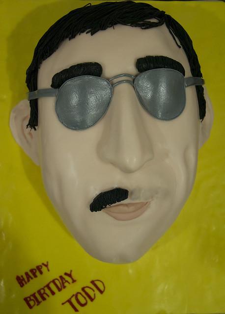 3D face cake