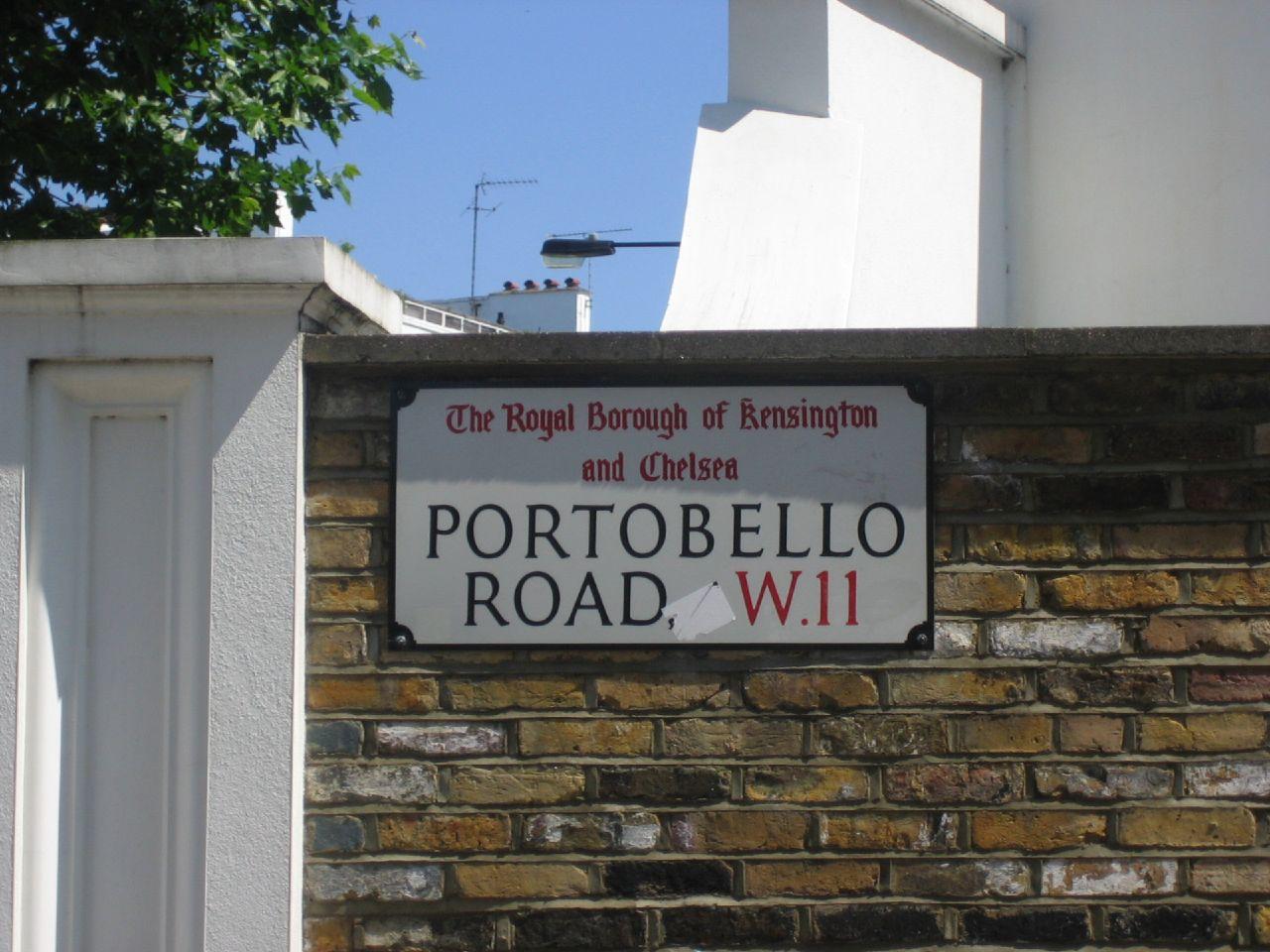 Portobello Road, W11, London