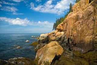 Red Granite Cliffs | by brentdanley