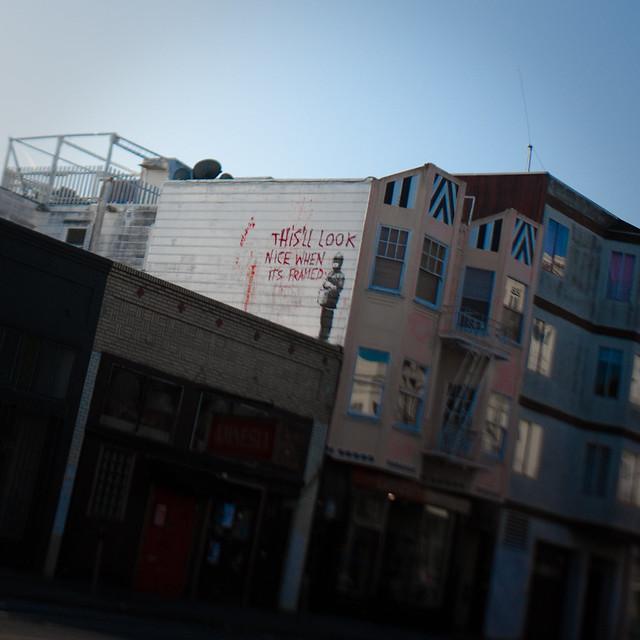 Banksy in SF: valencia st