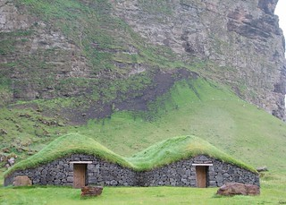 Grass-roof houses | by michael clarke stuff
