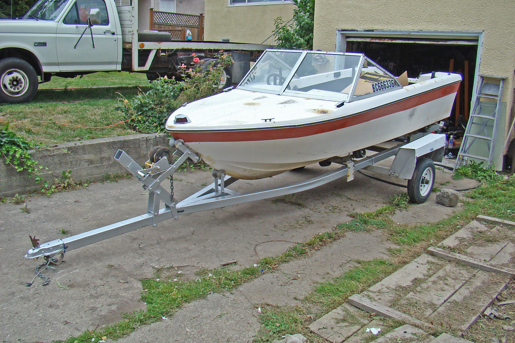 My boat project 14 ft sangster | I got this boat for a proje