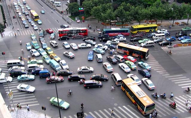 Gridlock -  Shanghai, China - 上海 中国