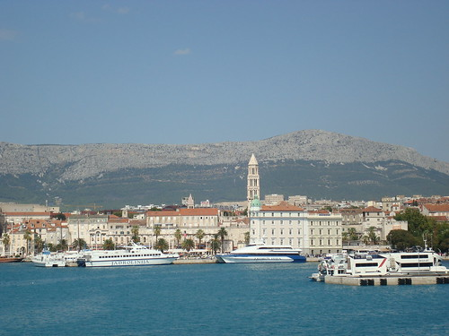 View of Split from the Water | by thomasbrightbill