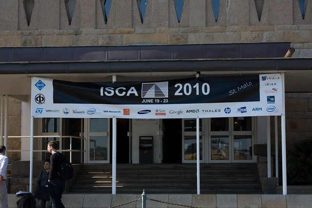 ISCA 2010: conference (monday)