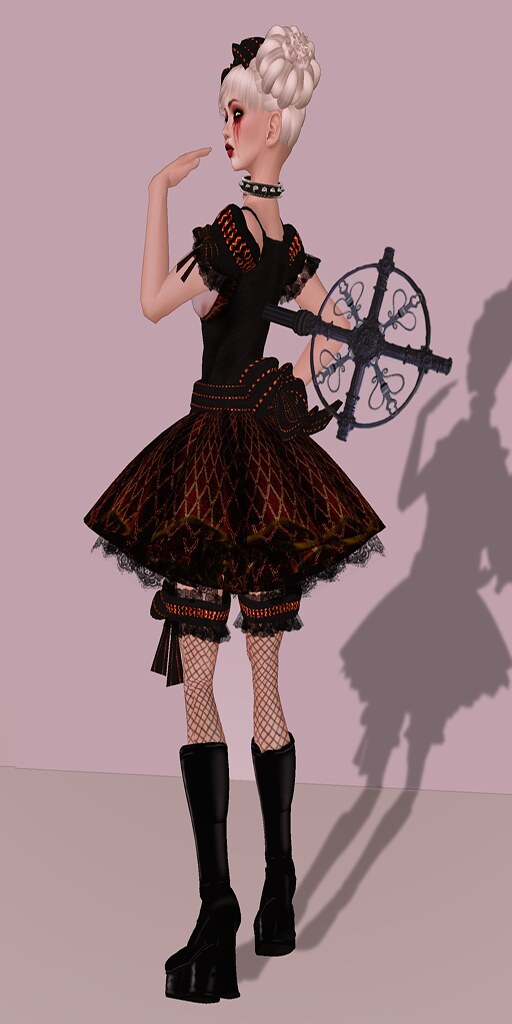 Godiva Goth Doll - Godiva Goth Doll Halloween Costume - Rarely Obscure - Flickr