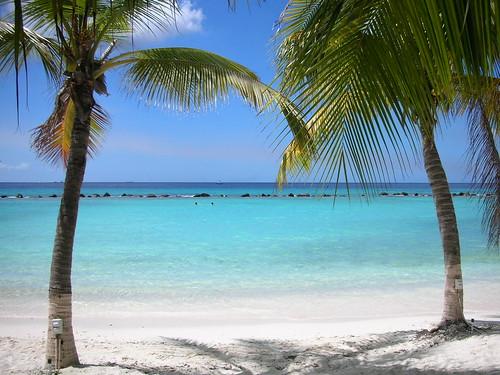 Tema caribenho para uma área de trabalho