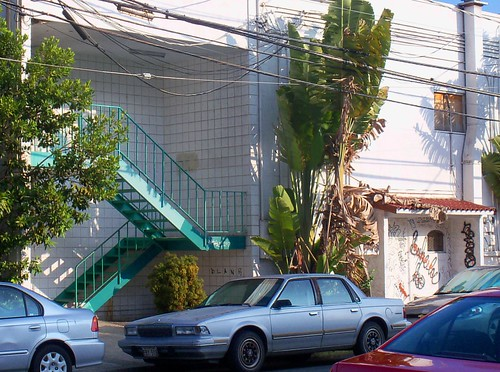 Stairways, Cars and a Graffiti Shack by Exotic Nights (close up) - Between Kamani Street (and 909 Halekauwila St) | by kalihikahuna74 (OkinawaKhan808)