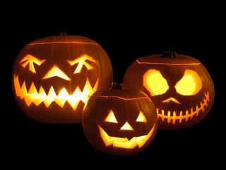 Jack-o'-lanterns | by wwarby