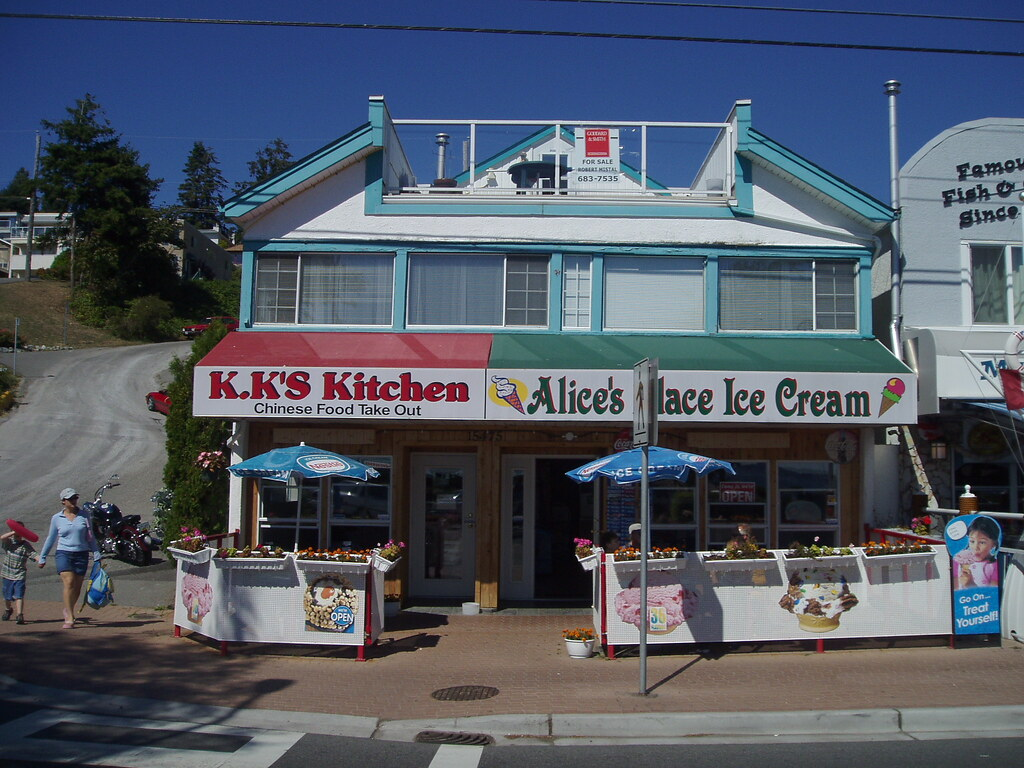 White Rock Alice S Place Ice Cream K K S Kitchen Chinese