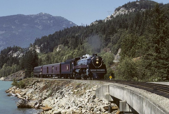 My visit to BC Rail in Aug. 1985
