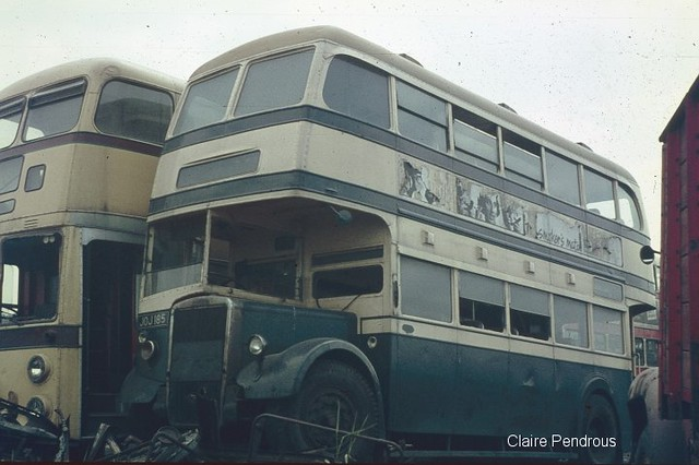 Bournemouth and Birmingham buses in the breakers yard | Flickr