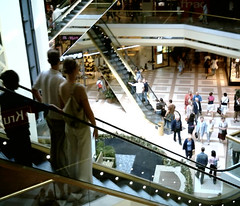 Shopping mall Escalators | by My name's axel