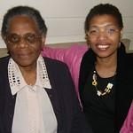 Joyce Trotman and Audrey West, members of Britain Yearly Meeting