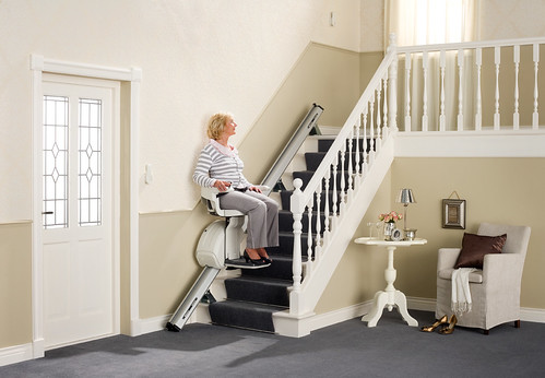 HomeGlide Straight Stairlift | by Multicare Mobility